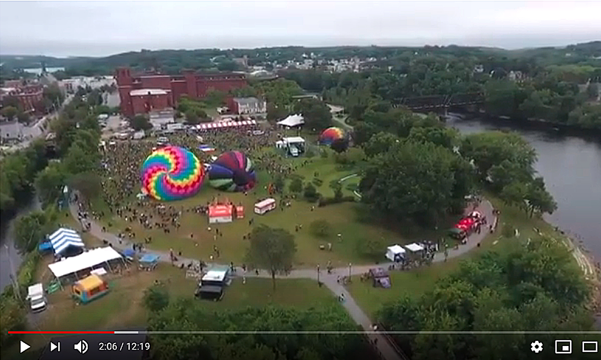 Hey, Balloon Festival-goers: Stop me if you've heard this one before… - CentralMaine.com