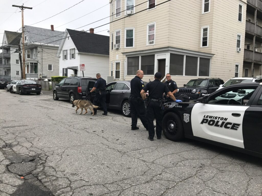 PHOTOS: Lewiston Police Arrest Driver After Foot Chase