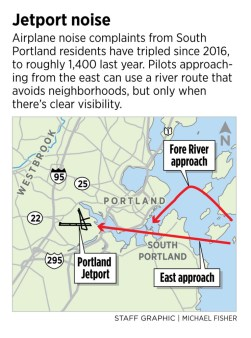 Fed up with jetport noise, residents ask FAA to change