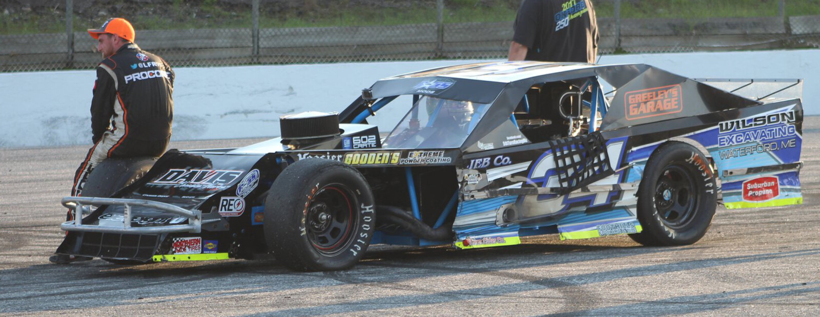 Auto racing: Spencer Morse right at home on PASS Mods tour