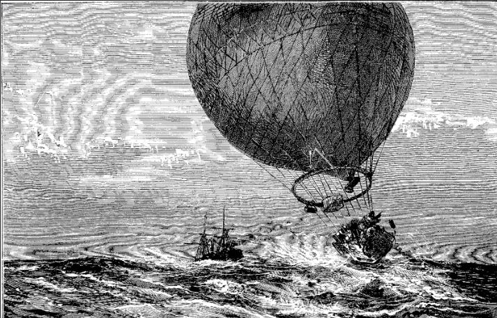 The strange tale of a Maine balloonist who vanished in 1885 - CentralMaine.com