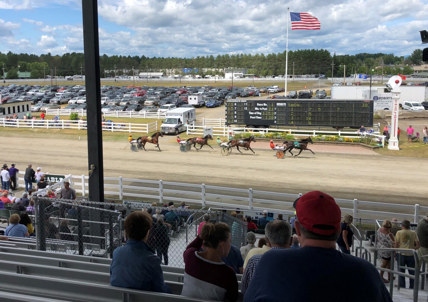 Harness racing kicks off horse betting Sunday at Skowhegan Fair - CentralMaine.com