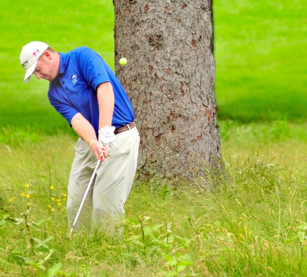 Shawn Warren, an assistant pro at Falmouth Country Club, is one of just five Maine Chapter PGA pros playing in the Maine Open, which starts Tuesday.