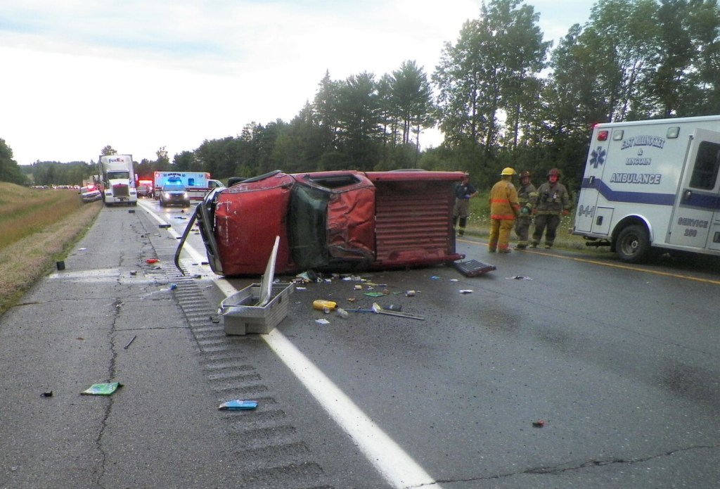 A driver has been charged with drug possession in the wake of this crash Friday on Interstate 95 in Mattamiscontis Township, near Lincoln, that killed Stephanie Bell, 36.