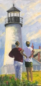 Artwork of Arthur Schaefer on display at Freeport library through August | Lewiston Sun Journal