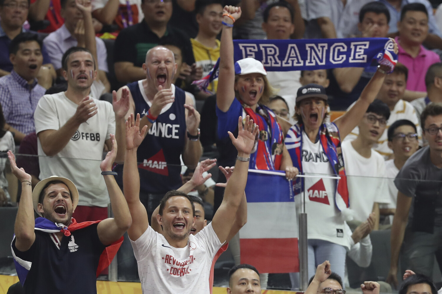 A shocker: U S  basketball loses to France in World Cup