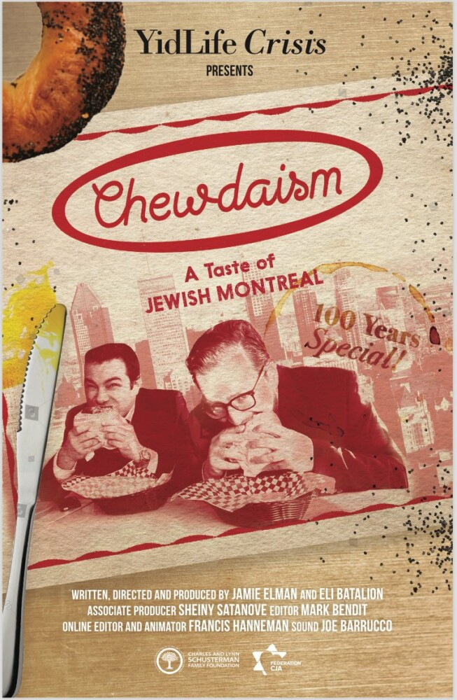 A film tour of Jewish food in Montreal is coming to Portland