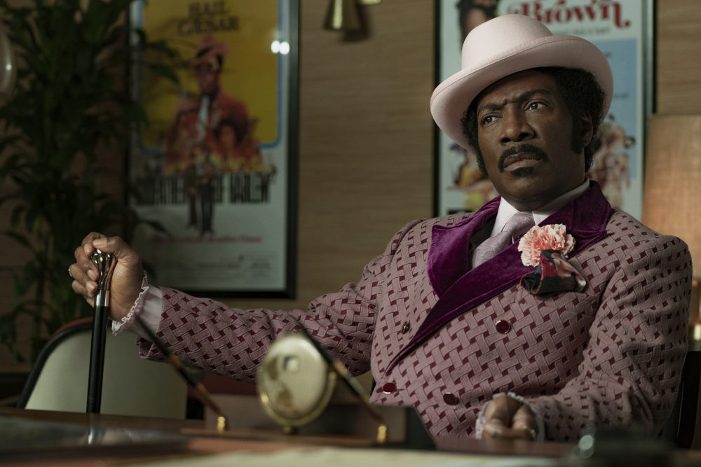 """Eddie Murphy in a scene from """"Dolemite Is My Name."""""""