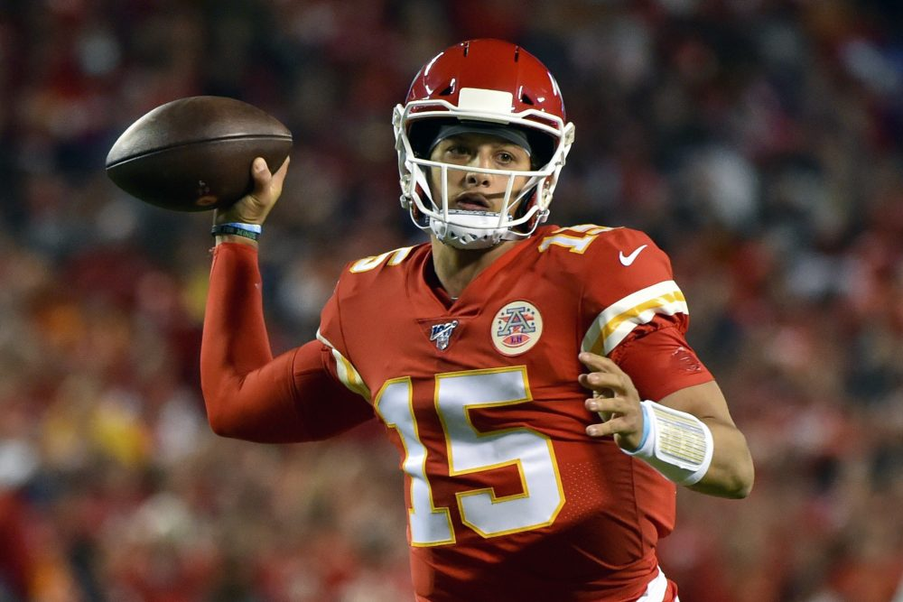 Kansas City Chiefs quarterback Patrick Mahomes is expected to start Sunday against Tennessee.