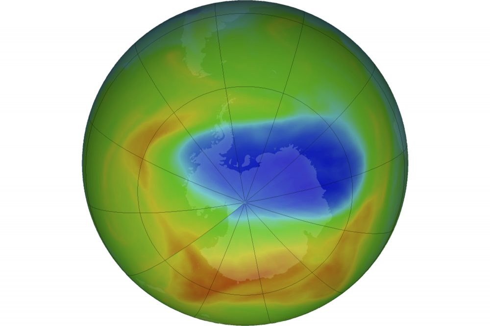 The ozone hole is smaller than ever