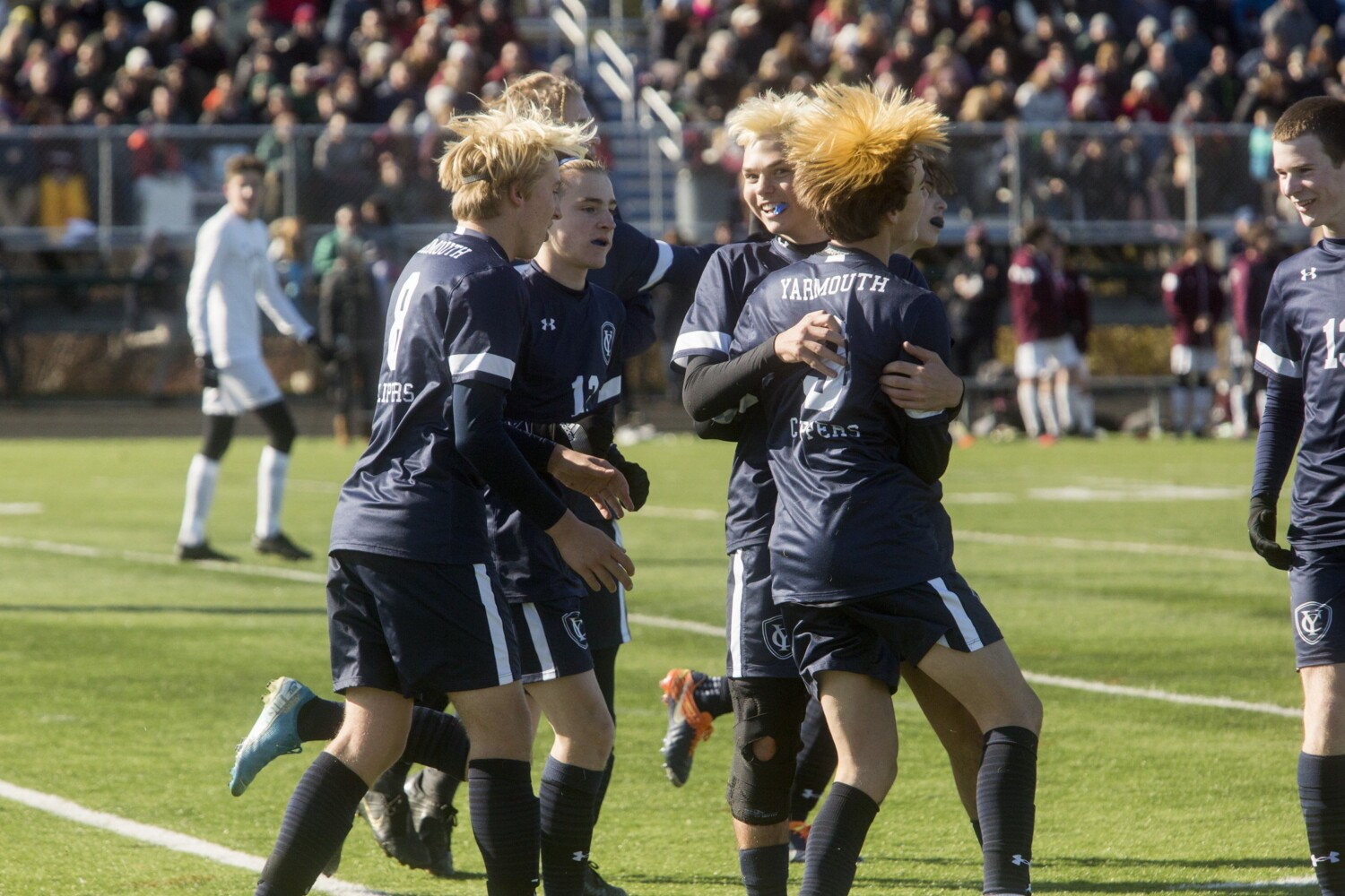 Boys' soccer: Yarmouth tops Caribou to win Class B title