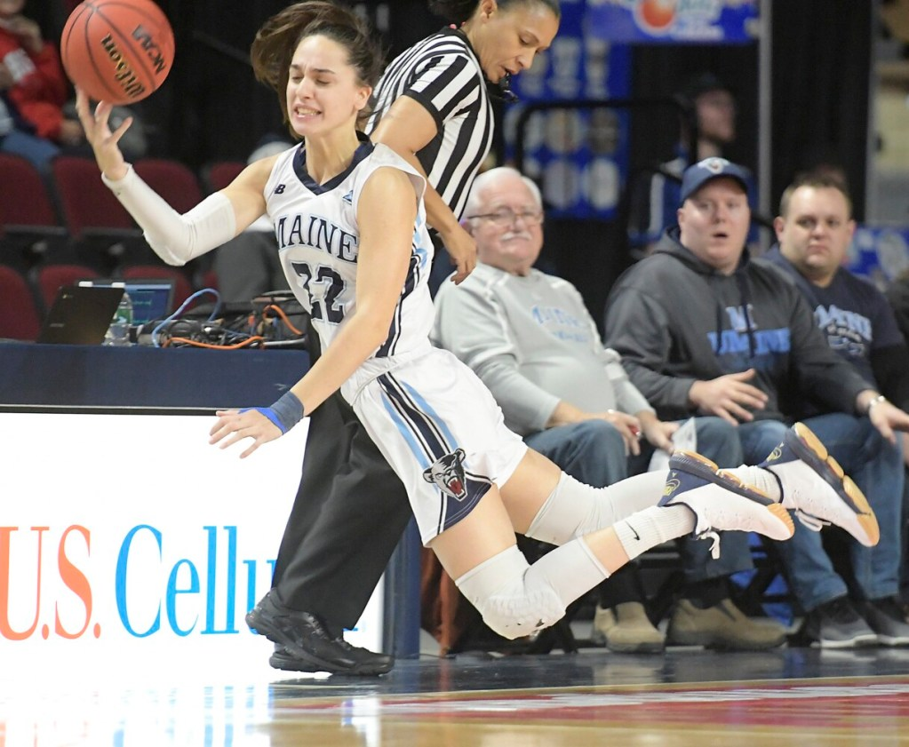 University of Maine senior forward Blanca Millan, who suffered a season-ending knee injury earlier this year, will return for a fifth season.