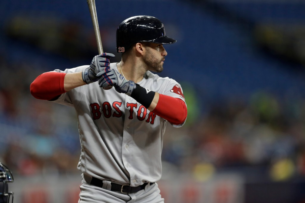 Designated hitter J.D. Martinez decided not to opt out of his contract with the Boston Red Sox. Martinez is scheduled to make $23.75 million in 2020 and has opt-out option after the next two seasons.
