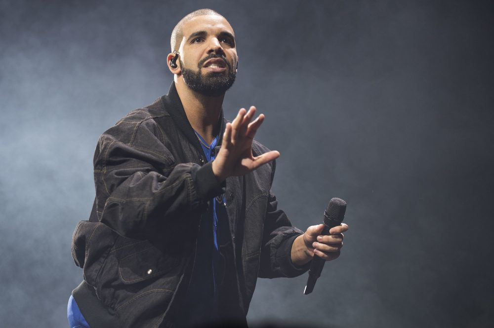 In this Oct. 8, 2016 file photo, Drake performs onstage in Toronto.