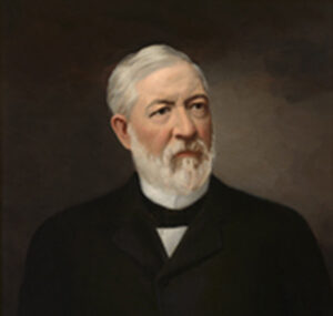 James Gillespie Blaine, 1905, painted by Freeman Thorp
