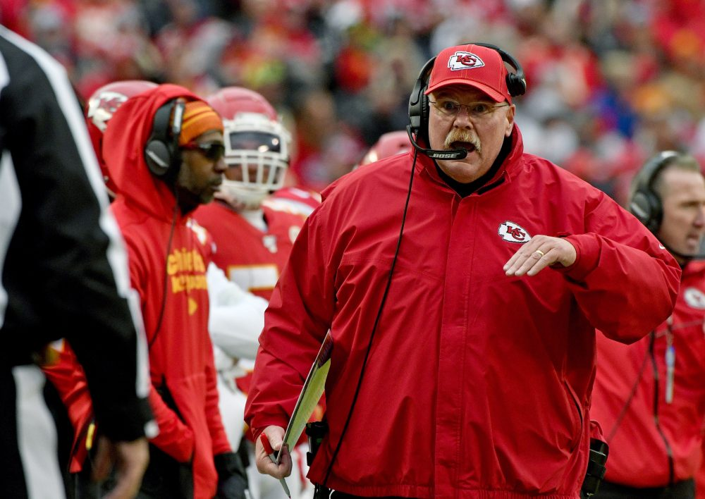 Andy Reid has made 15 trips to the postseason with the Philadelphia Eagles and the Kansas City Chiefs. He has yet to raise the Lombardi Trophy, though.