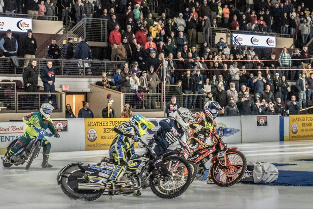 Xtreme International Ice Racing - motorcycles on ice - comes to the Cross Insurance Arena in Portland Saturday.
