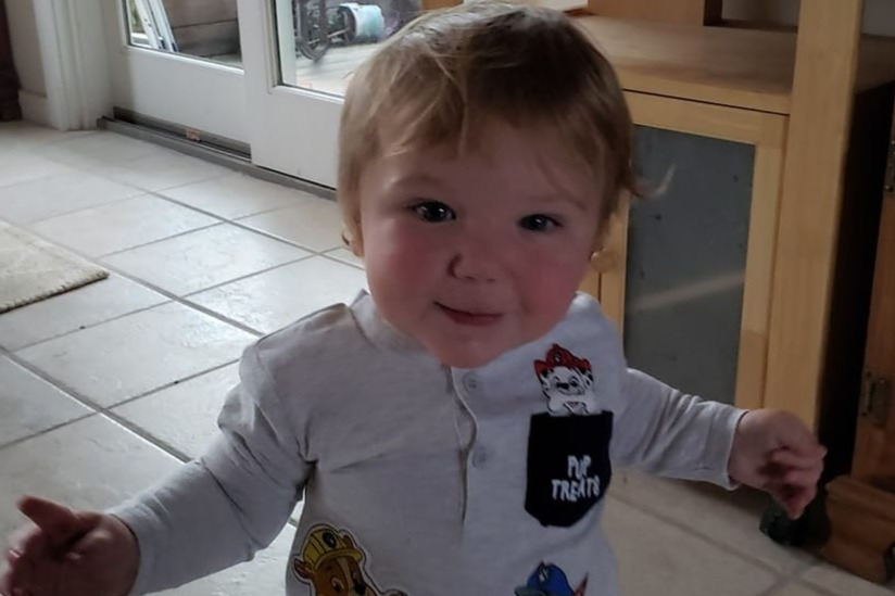 Rocco Perfetto will be 15 months old on Jan. 25.