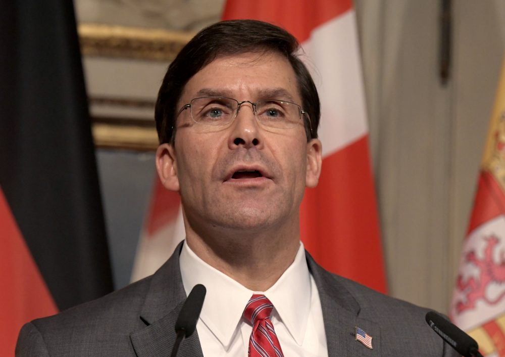 Esper: Taliban deal promising but not without risk