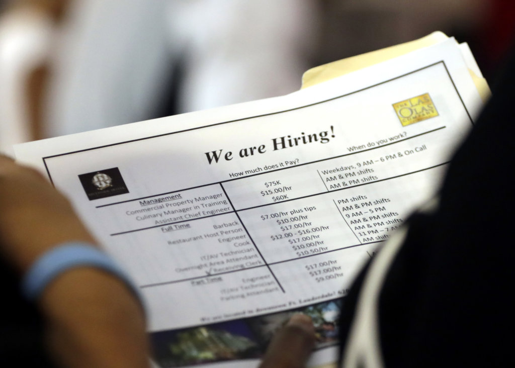 Maine unemployment rate hits potential record low in July | Lewiston Sun Journal