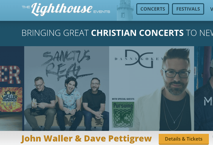 Jeffrey E. Wall, founder of The Lighthouse Events, a Christian concert promotion company in Freeport, is facing charges of fraud.