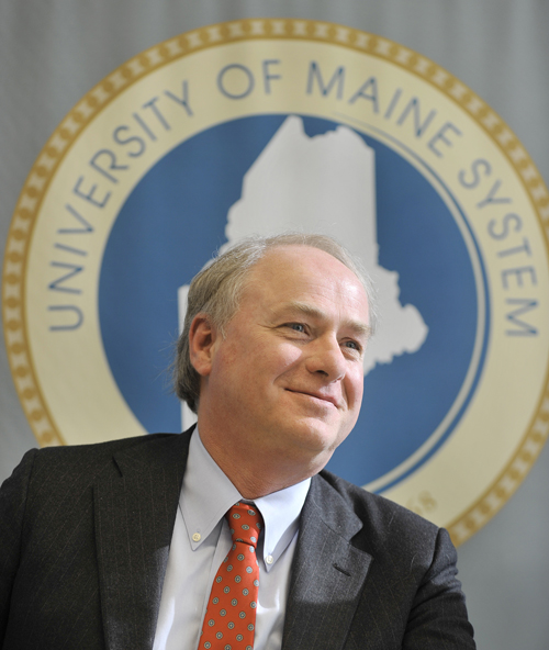 James H. Page was named chancellor of the University of Maine System in 2014.