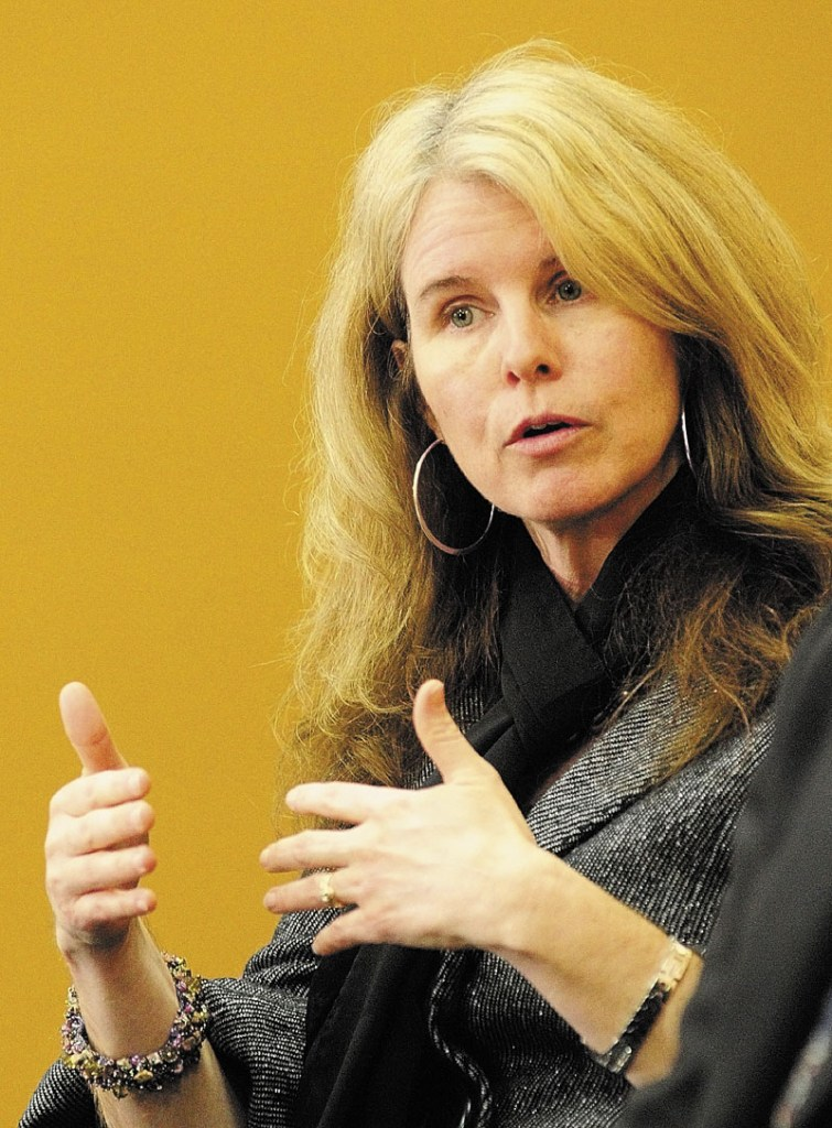 Mary Mayhew, commissioner of Maine's Department of Health and Human Services.