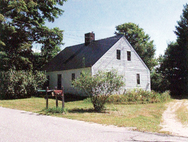 The Yarmouth Water District razed this early 19th-century Cape-style house on 129 Baston Road on July 8 without getting a demolition permit from the North Yarmouth code enforcement officer or notifying the historical society because the house was built before 1900.