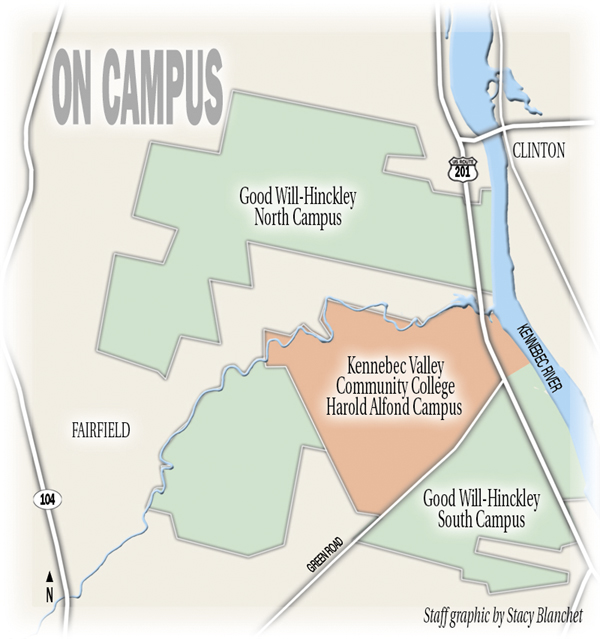 Grant enables Kennebec Valley Community College to offer sustainable on kvcc texas township campus map, chemeketa community college campus map, kvcc groves campus center map,