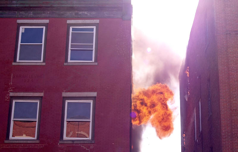 Fire Hits Upper Floors Of Waterville Main Street Building