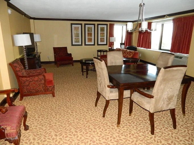 View of the suite