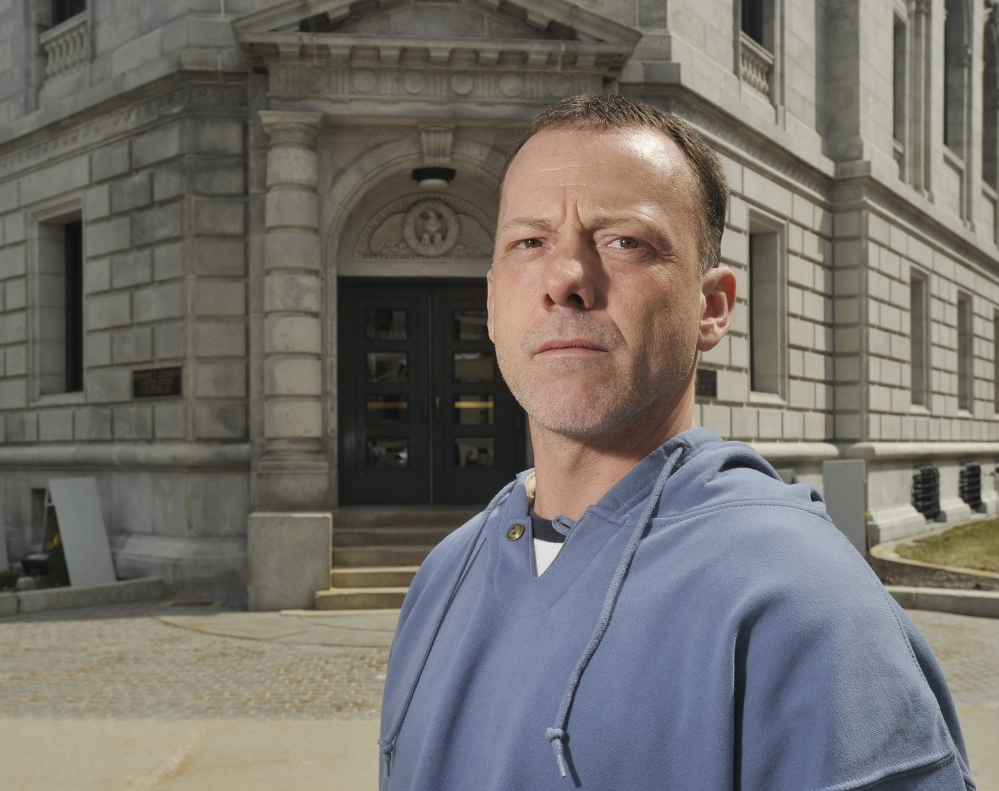 In a trial beginning this week, Keith Ayotte, a former Maine State Prison inmate, is claiming that guards retaliated against him for reporting an inmate's attack using a padlock.