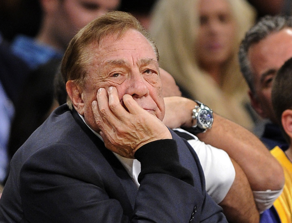 Los Angeles Clippers co-owner Donald Sterling in a 2011 photo.