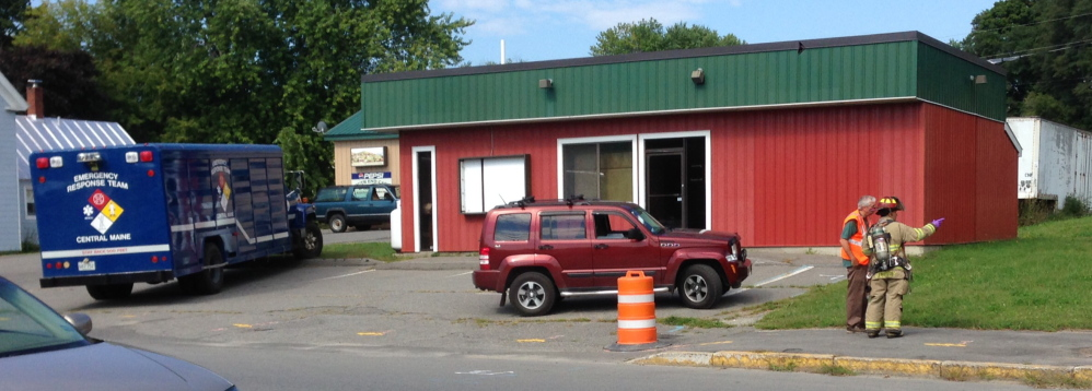 Hazardous materials emergency response team truck was called to Water Street in Waterville Friday morning after a report of a suspicious odor prompted calls to the fire department from worried neighbors.