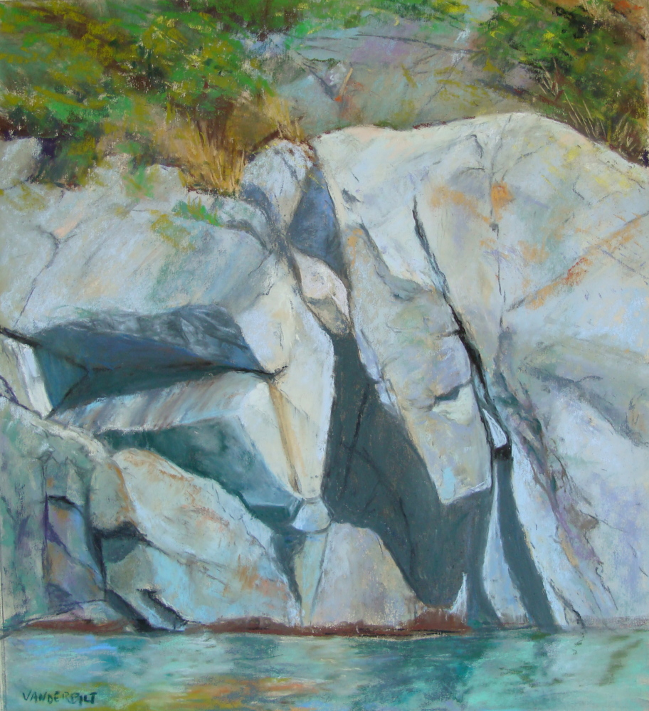 """Works in pastel, including """"Manana Moment,"""" by Barbara Vanderbilt, will be displayed."""