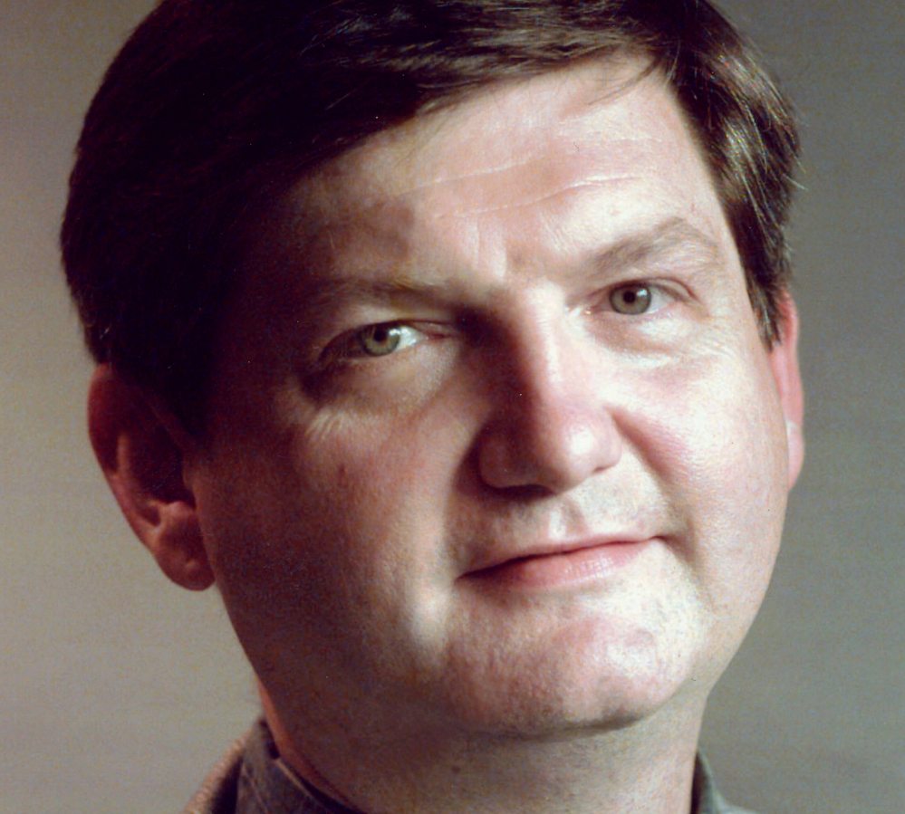 This undated photo released by Columbia University shows New York Times reporter James Risen in New York. Risen is being honored Sunday for courageous journalism for facing down the prospect of jail for refusing to reveal a CIA source of classified information. The award is named for a Colby graduate who died in 1837 while defending his press against a pro-slavery mob in Illinois.