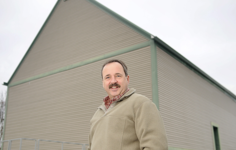 Gary Peachey, president of Peachey Builders, is the winner of the Kennebec Valley Chamber of Commerce's Business Person of the Year.
