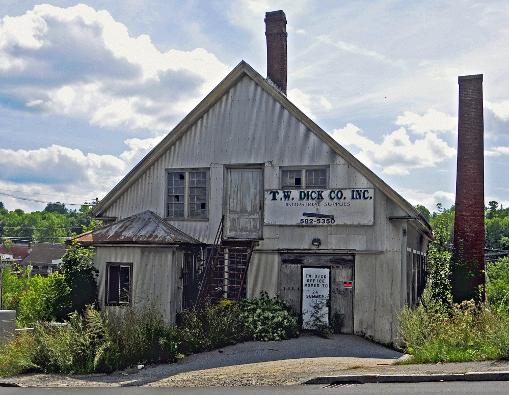 Gardiner officials are working with MaineGeneral Medical Center to transform the former T.W. Dick site into medical offices.