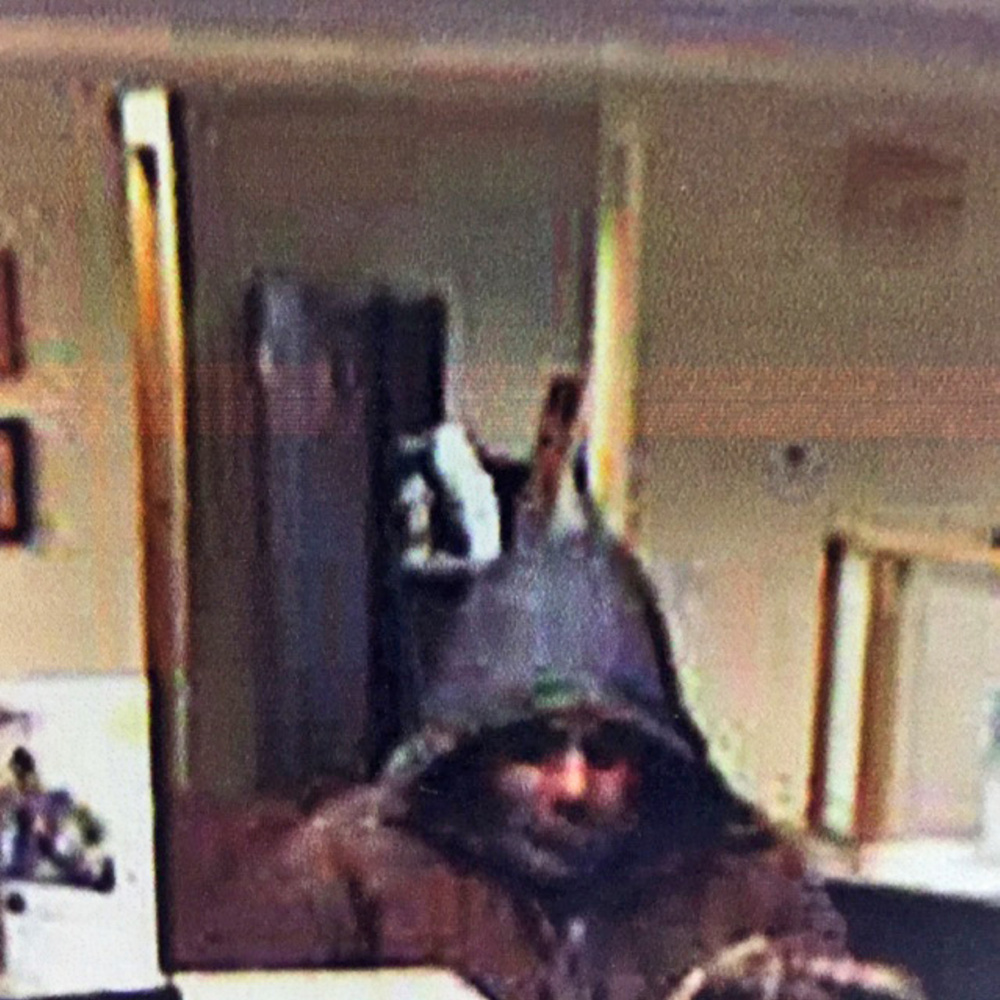 Police say this man robbed the Trademark Federal Credit Union on Edison Drive in Augusta on Tuesday.