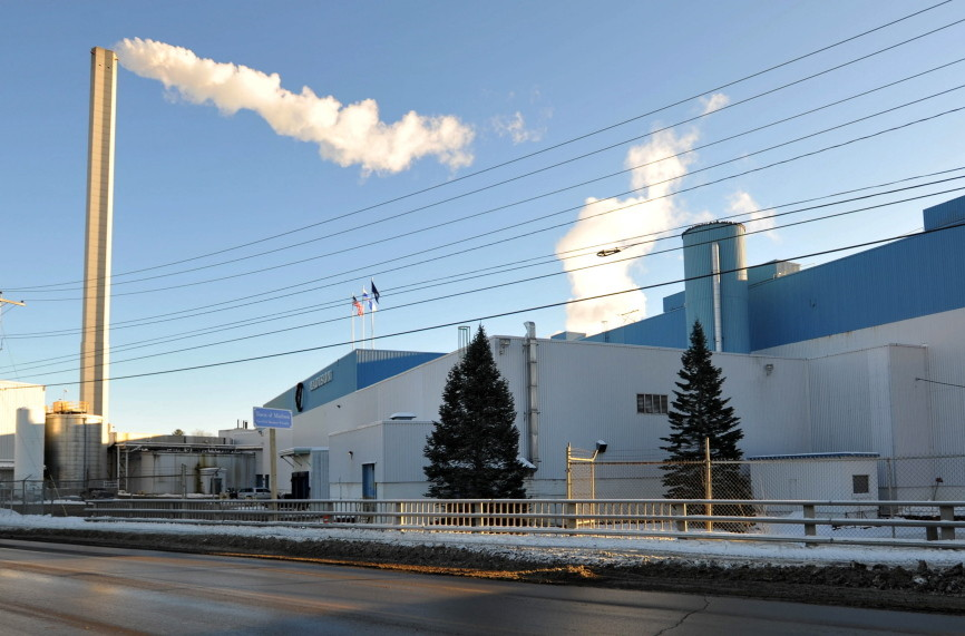 Madison Paper seen here in January 2015, is scheduled to close by the end of May this year.