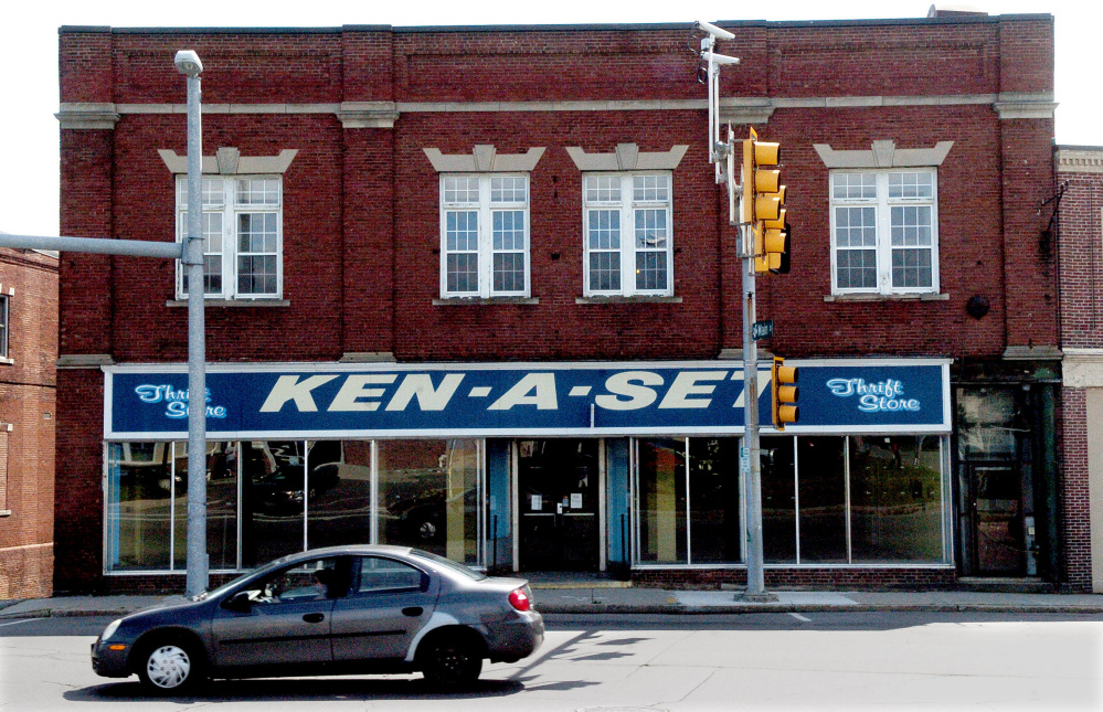 The former Ken-A-Set building at 1 College Ave. in downtown Waterville was bought recently by a Massachusetts businessman who plans to turn it into a microbrewery, pub and nightclub.