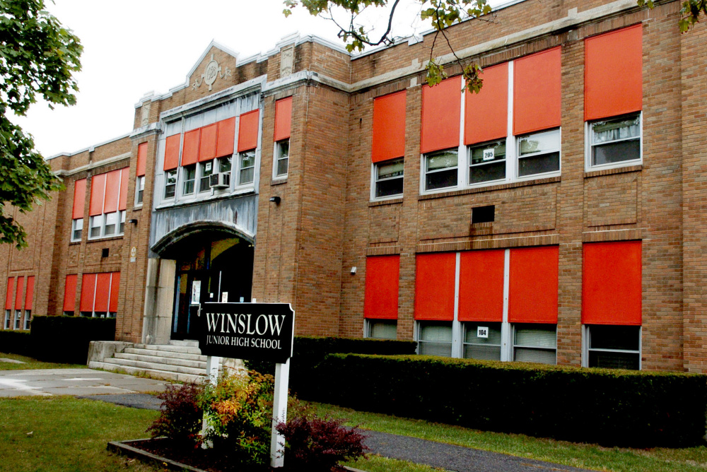 Stephen Blatt Architects, based in Portland, has been selected to devise a plan to move Winslow Junior High School students into other renovated town schools so that the current junior high building, built in 1928, can be torn down.