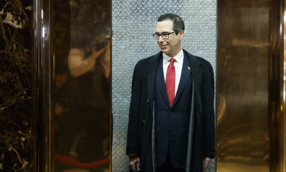 "Steven Mnuchin, Donald Trump's nominee for treasury secretary, said that in Trump's economic plan, ""There will be a big tax cut for the middle class."""