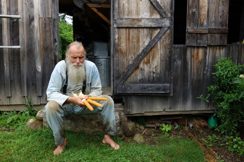 """The documentary """"Seed"""" features Maine seed saver and farmer Will Bonsall."""
