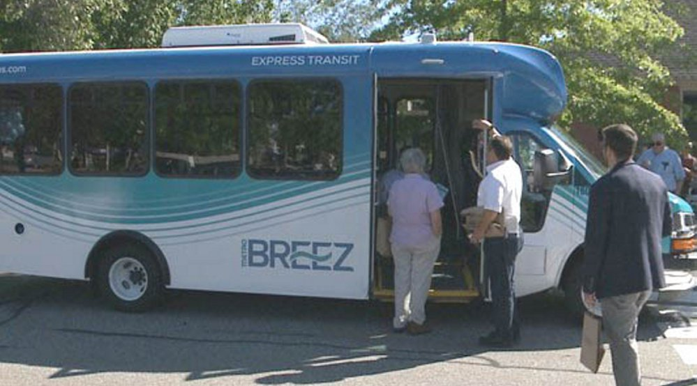 The Breez shuttle service will add stops in Brunswick this summer.