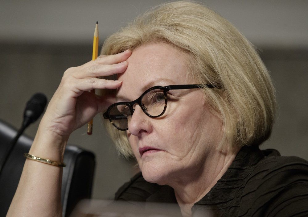 Sen. Claire McCaskill, D-Mo. says the opioid epidemic is the result of marketing strategies by drug firms.