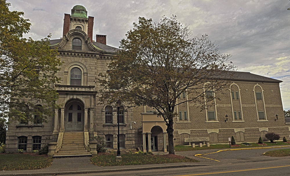 The Kennebec County jail, shown in this 2015 file photo, is short about $377,000 in funding, according to the county administrator.