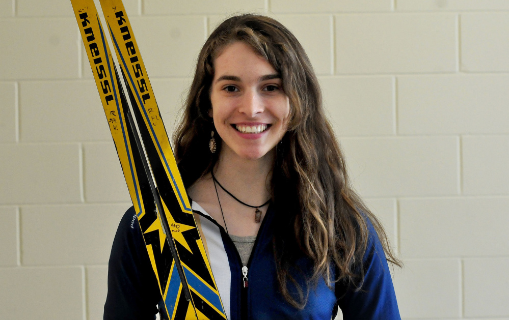 Mount Blue senior Julia Ramsey is the Morning Sentinel Girls Nordic Skier of the Year.