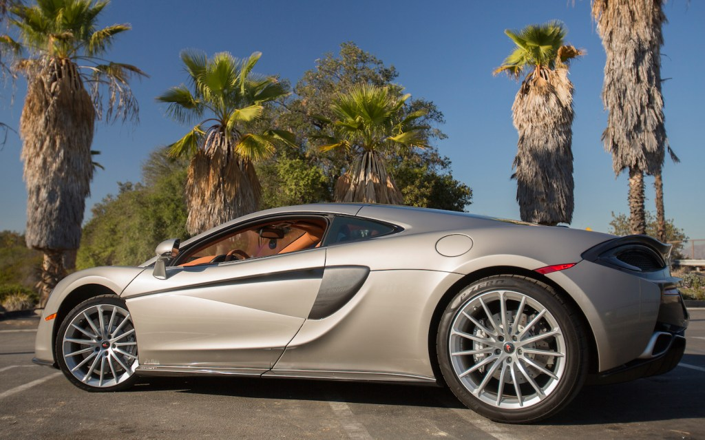 The car goes from zero to 62 mph in 3.4 seconds and has a top speed of 204 miles per hour.