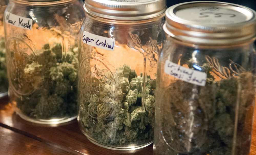 The Cannabis Healing Center in Hallowell sells medical marijuana to those with permission to use the drug.